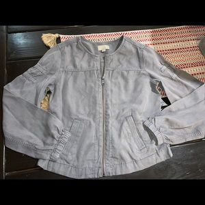 Loft zip up jacket xs